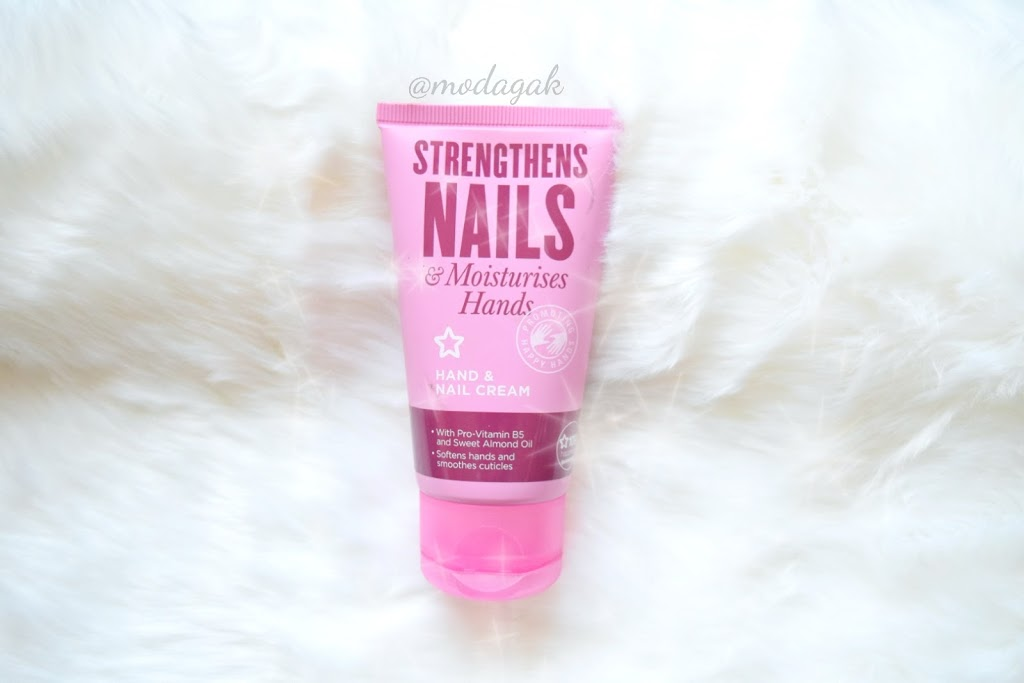 Watsons Superdrug Strengthens Nails Tırnak ve El Kremi